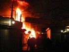 Ночью в Киеве горели торговые киоски