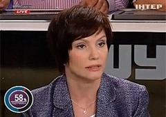 Исчез загадочный «протокол», который зачитывала Бондаренко на телепрограмме - фото