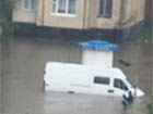 Сильный ливень затопил Луцк