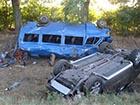 На Полтавщине в аварии погиб ребенок, семеро взрослых травмированы