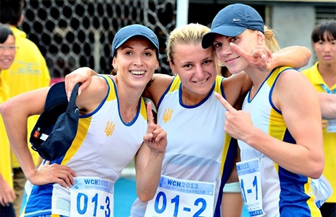 Украинские пятиборки завоевали золото на чемпионате мира в Тайване - фото