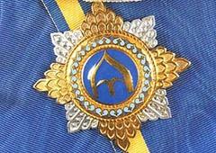 Янукович подарил орден губернатору на его юбилей - фото