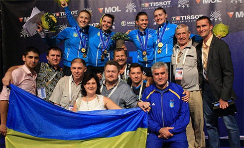 Женская сборная по фехтованию принесла еще одно золото Украине - фото