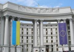 МИД Украины вызвало к себе «на ковер» советника посольства России - фото