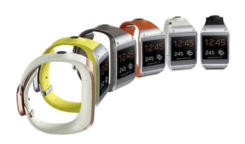 Samsung представил «умные часы» Galaxy Gear - фото