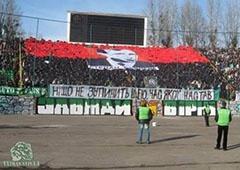 ФК «Карпаты» сделал красно-черный флаг своим официальным символом - фото
