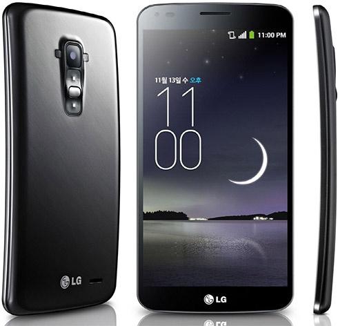 LG показала свой изогнутый смартфон G Flex - фото