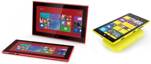 Nokia представила гигантские смартфоны и планшет - фото