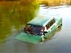 В реке Десна затонула машина с людьми