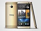 HTC выпустила золотистый смартфон One