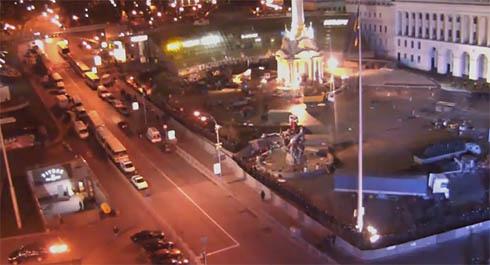 Киевский Евромайдан «зверски» зачистил «Беркут» (дополнено) - фото