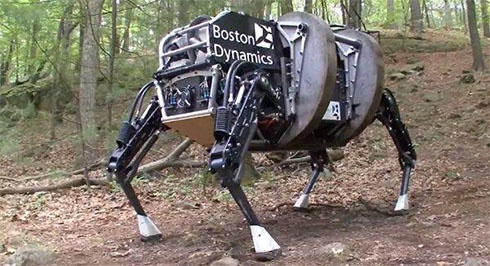 Google купил известного разработчика роботов Boston Dynamics - фото
