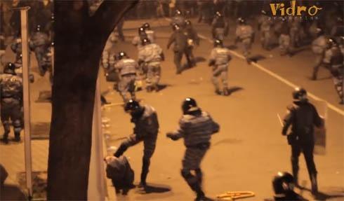 Прокуратура занялась избиением журналистов милицией на Банковой - фото