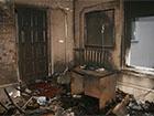 Сгорел офис Партии регионов районной ячейки на Тернопольщине