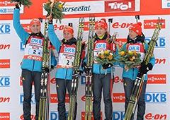 Украинские биатлонистки завоевали первое золото в сезоне - фото