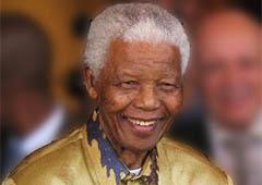 Умер Нельсон Мандела, известный правозащитник - фото