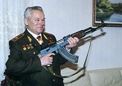 Умер создатель АК Михаил Калашников - фото