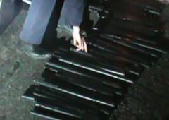 В Крыму в свободовцев нашли 59 дубинок и нож - фото