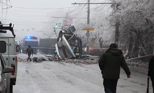В Волгограде снова теракт: взрыв в троллейбусе - фото