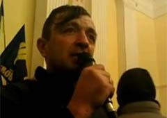 В захваченной КГГА заявляют о Революции - фото