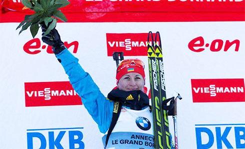 Валя Семеренко стала лучшей спортсменкой декабря - фото