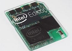 Intel представил компьютер размером с SD-карту - фото