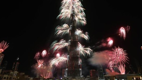 Новогодние фейерверки в Дубае попали в Книгу рекордов Гиннесса - фото