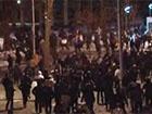 В Днепропетровске митинг под ОГА разогнала милиция вместе с титушками