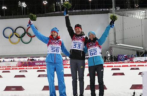 Первую медаль в Сочи принесла Украине Вита Семеренко - фото