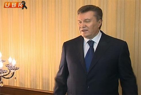 Янукович появился на ТВ и наврал о событиях в Украине (дополнено, видео) - фото