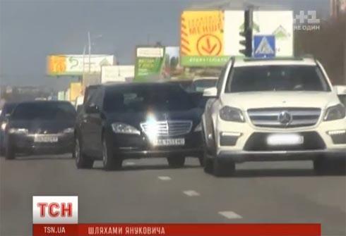 Аваков ездит кортежем на новеньких Мерседесах и нарушает Правила дорожного движения - фото