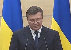 Янукович в Ростове-на-Дону зачитал свое обращение к Западу, США и украинцам - фото