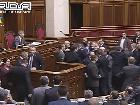Миллиардерша из КПУ Оксана Калетник напала на депутата. Добавлено видео