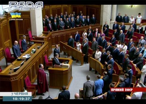 Порошенко принял присягу Президента Украины - фото