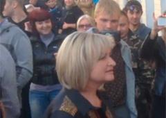Жену Юрия Луценко прогнали с Банковой - видео - фото