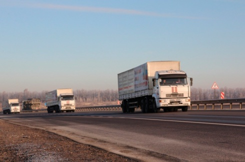 Девятый российский так называемый «гуманитарный конвой» незаконно вошел в Украину - фото