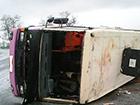 На Полтавщине перевернулся пассажирский автобус, есть погибшие