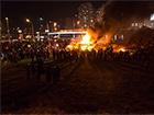 Незаконное строительство на Осокорках было сожжено - фото