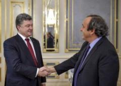 Порошенко заверил футбольных фанов: «Крым есть и будет украинским» - фото