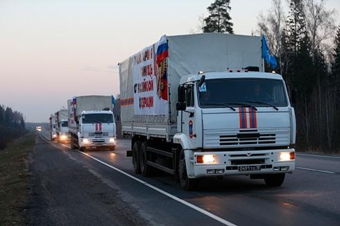 С так называемым «гуманитарным конвоем» Россия в Украине снова ведется «как у себя дома» - фото
