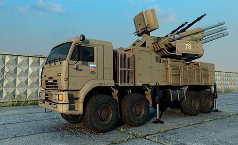 У Новоазовска обнаружена позиция российского ЗРК «Панцирь», - СНБО - фото
