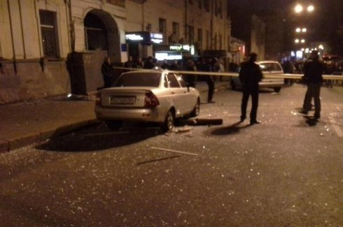 В харьковском пабе «Стена» произошел взрыв, есть пострадавшие - фото