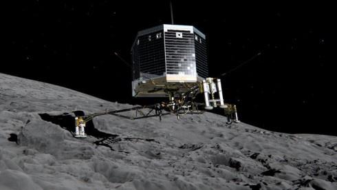 Впервые в истории аппарат с Земли посажен на комету - фото