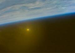 NASA показала возвращения космического корабля Orion - фото