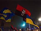 «Свобода» совместно с «Правым сектором» почтили Бандеру (фотографии)