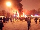 В Харькове произошел взрыв в кафе в парке Шевченко