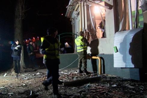 В Одессе произошел взрыв в банке - фото