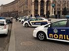 На Майдане Независимости выставлены образцы патрульных автомобилей