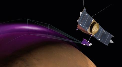 Над Марсом обнаружено массивное облако пыли - фото