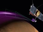 Над Марсом обнаружено массивное облако пыли